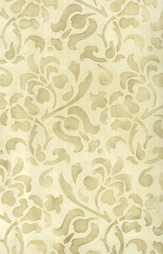 Floral Allover Pattern Stencil #allover #foliate #stencil