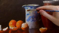 Still Life Master Class in Acrylics – Reflections