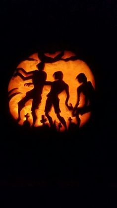 Zombie pumpkin