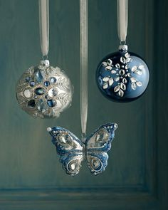 40 Fresh Blue Christmas Decorating Ideas_11