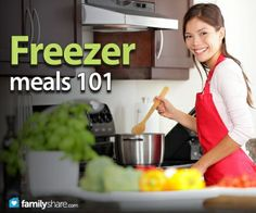 Busy parents don't have time to cook dinner every night. Freezer cooking allows you to have ready-to-heat meals prepared for those hectic nights when...