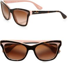 7e8f068bd508 Prada Square Catseye Sunglasses. If these don t belong on my face I don