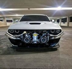 Dodge challenger modified version