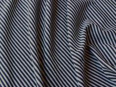 Striped Jersey Grey-Black