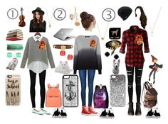 """""""my gravity falls, harry potter and over the garden wall crossover outfits :3"""" by little-author on Polyvore featuring Ally Fashion, Miss Selfridge, 360 Sweater, Ström, LE3NO, Coal, JanSport, Valentino, Frends and Umbra"""