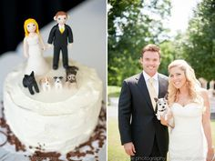 7 fun ways to include your pet in your wedding day!