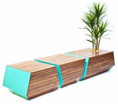 Boxcar Bench par Revolution Design House - Journal du Design