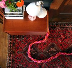 DIY Idea: Use Firesafe Rope to Beautify an Extension Cord