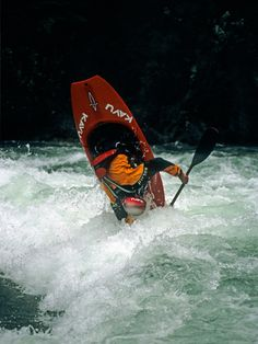 Kayak in the rapids