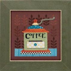 Debbie Mumm 2016 - Coffee Grinder kit (cross stitch & beading)