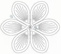 Blumendeckchen