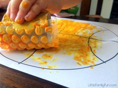 Little Family Fun: Basketball Craft for Kids