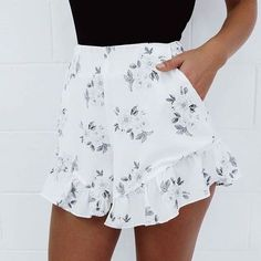 adorable ruffle shorts