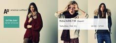 Shopping Event American Outfitters Extra Day | Tot -70% Korting -- Nazareth -- 03/12