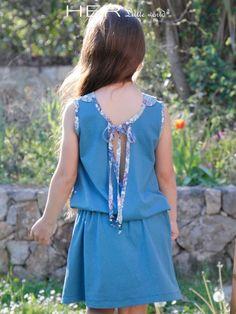 Children's sewing pattern: Dress Estivale