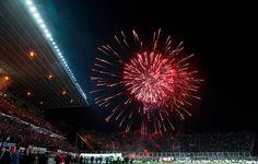 ¡SAN LORENZO suma así su primer trofeo de #CopaLibertadores en su primera final en el torneo! pic.twitter.com/ymgqjKIs5u