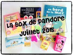 box de pandore juillet 2015, littérature jeunesse