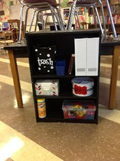 "Some cool ideas for middle school classroom organization. I like the ""paper turn-in station. Middle School Classroom, New Classroom, Classroom Setup, Classroom Design, Science Classroom, Classroom Supplies, Classroom Arrangement, Classroom Environment, Teacher Organization"