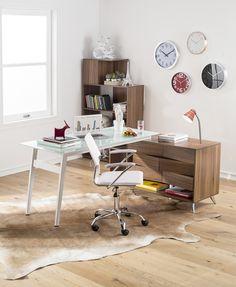 #Ideas simples para ambientar #escritorios y espacios de trabajo. #HomeOffice #Desk