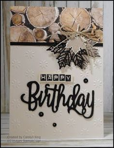 Stampin' Up! Wood Texture DSP
