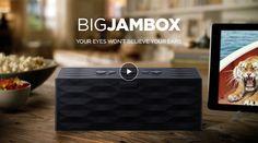 Haut-parleurs sans fil Jawbone   JAMBOX et BIG JAMBOX