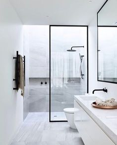 Small bathrooms may seem like a difficult design task to take on. Shower room is a fantastic way to save space in a small bathroom. Removing the bath and building a shower enclosure will give you plenty of room to move around,… Continue Reading → Bathroom Renos, Laundry In Bathroom, Bathroom Goals, Bathroom Remodeling, Paint Bathroom, Bathroom Black, Remodeling Ideas, Basement Bathroom, Skylight Bathroom