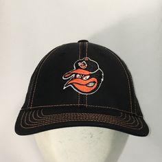 8aa07f85a7a Vintage Baltimore Orioles Hat MLB Baseball Cap American Needle Black Orange  Sports Hats For Men Dad Caps Mens Gifts T122 A9017