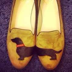 I am all over these like a rash.   Dachshund flats.. C Wonder Fall 2013 preview!!  Kathy and tabitha are going to need these...
