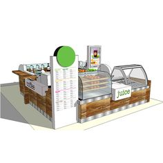 Source Easy to install commercial juice bar kiosk for sale on m.alibaba.com