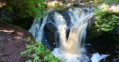 Spring is one of the best times of year to chase waterfalls in Wisconsin.