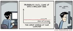PhD Comics (Funny, this is exactly what I'm doing right now)