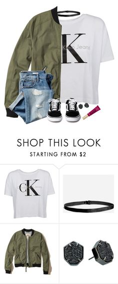 """Sorry I haven't posted in the past three months "" by meljordrum ❤ liked on Polyvore featuring Calvin Klein, Hollister Co., Gap and Kendra Scott"
