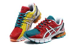Mens Asics Gel Kinsei 4 Orange Red DarkBlue Shoes. Metcalfefds Metcalfefds  · new and share collection 1c2120c70240