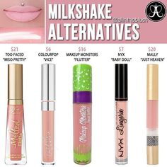 #MILKSHAKE ALTERNATIVES Please leave me your thoughts & requests in the