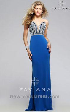 Faviana S7807 💟$495.99 from http://www.www.promsary.com   #bridal #weddingdress #mywedding #faviana #bridalgown #wedding