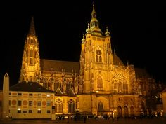 St. Vitus Cathedral is a Roman Catholic metropolitan cathedral in Prague, the seat of the Archbishop of Prague, Czech Republic