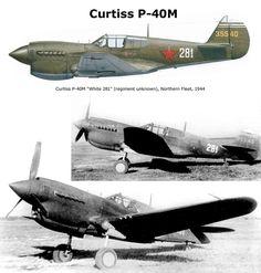 Curtis P-40M