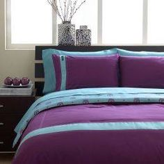Decorating With Turquoise, Teal and Purple | Pinterest | Comforter ...