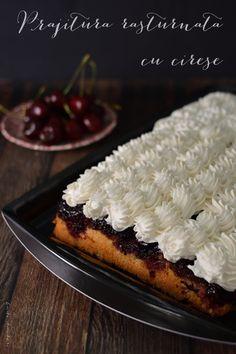 Prajituri si tarte Archives - Bucate Aromate Romanian Desserts, No Cook Desserts, Waffles, Sweet Treats, Deserts, Pie, Sweets, Fruit, Cooking