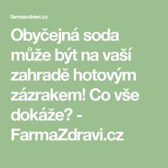 Obyčejná soda může být na vaší zahradě hotovým zázrakem! Co vše dokáže? - FarmaZdravi.cz