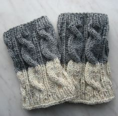 Knitting Patterns Leg Warmers Knit Boot Cuff, Leg Warmers Grey and Oatmeal color, wellies boot cuff,Wool,… Knitted Boot Cuffs, Knit Leg Warmers, Knit Boots, Knitting Accessories, Winter Accessories, Knitting For Kids, Baby Knitting, Wellies Boots, Wool Yarn