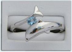 Topaz Dolphin Ring