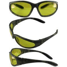 Digital Camp Print Nylon Frame Safety Glasses - HAVE