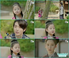 the little girl said her name is bok soon and Baek ah remember Woo hee - Moon Lovers Scarlet Heart Ryeo - Episode 20 Finale (Eng Sub) Korean Drama Funny, Korean Drama Quotes, Scarlet Heart Ryeo Wallpaper, Kdrama, Sungkyunkwan Scandal, Weightlifting Fairy, Dream High, Joo Hyuk, Picture Story