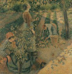 Camille Pissarro, La Cueillette des pommes, 1886.
