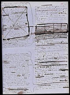 Victor Hugo, L'Homme qui rit, Manuscript