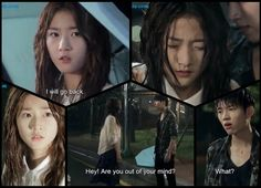 Soaked, lost, and abandoned, Angel wants to go back to the way it was and steps into the path of an oncoming truck. She is angry at him for spoiling. Hyun Kim, Nam Woo Hyun, Hi School Love On, High Shool, Best Kdrama, Drama Fever, Out Of Your Mind, Lee Sung, Drama Movies