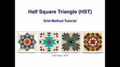 How Many Half Square Triangles Can Be Made at Once for a Quilt Block? - Page 2 of 2 - Keeping u n Stitches Quilting | Keeping u n Stitches Quilting