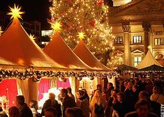 German Christmas Market...hands down The best place to get into the Christmas Spirit!