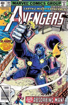 Los Vengadores 184, por George Perez, 1979